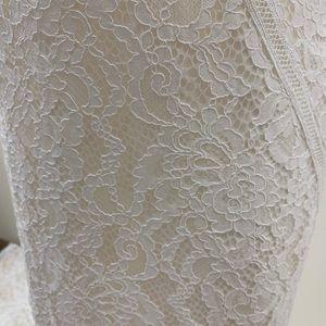 Blue by Enzoani Dresses - NWT Cap Sleeve, High Neck, Open Back Wedding Dress